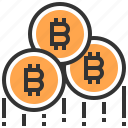 banking, bitcoin, finance, money, currency, coin, cash icon