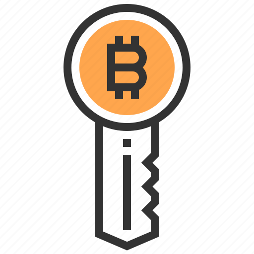 bitcoin, currency, finance, key, money, protect, security icon