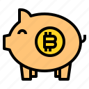 banking, bitcoin, business, currency, money icon