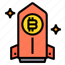 bitcoin, business, currency, money, stella icon