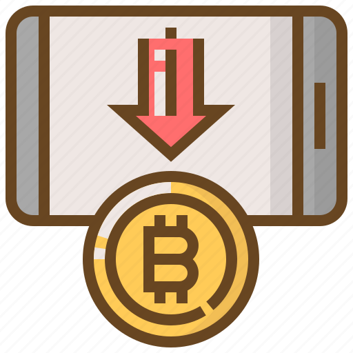 banking, bitcoin, cash, currency, finance, money, smartphone icon