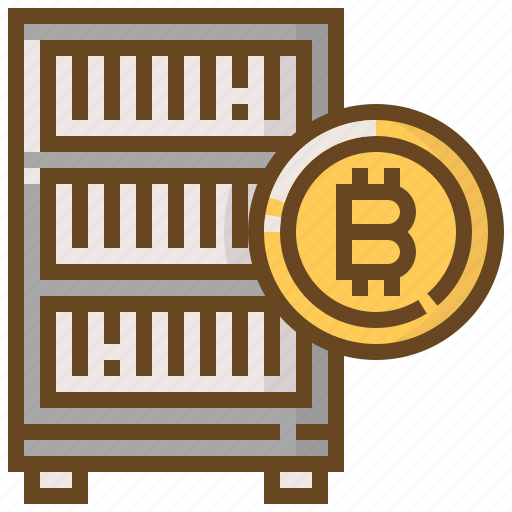 banking, bitcoin, coin, currency, finance, money, server icon