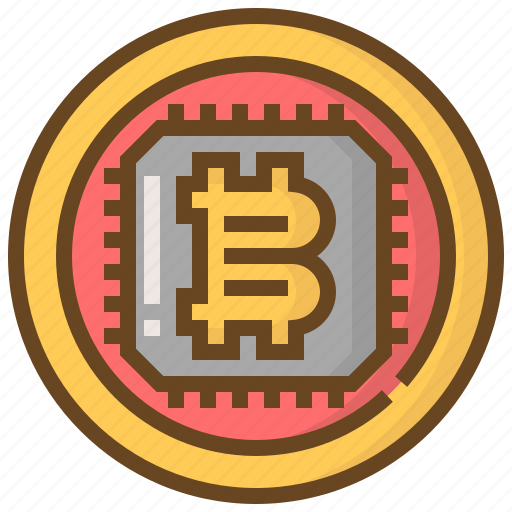 banking, bitcoin, currency, electronic, finance, money, technology icon