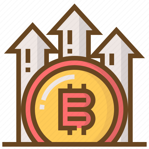 banking, bitcoin, coin, currency, finance, growth, money icon