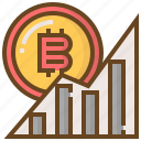 banking, bitcoin, currency, finance, money, coin, graph