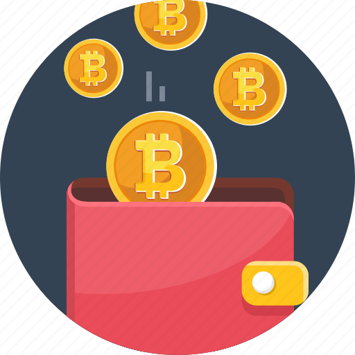 bitcoin, coin, cryptocurrency, currency, digital, money, wallet icon