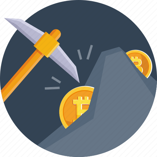 cryptocurrency, currency, digital, miner, mining, processing icon