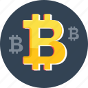 bitcoin, blockchain, cryptocurrency, currency, digital, money icon