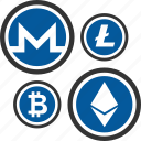 altcoins, bitcoin, coin, cryptocurrency icon