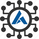 ardor, bitcoin, coin, cryptocurrency icon