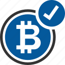 accepted, bitcoin, coin, cryptocurrency
