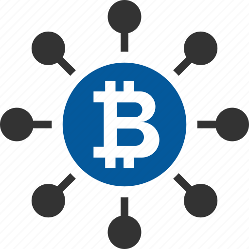 bitcoin, coin, cryptocurrency, decentralized icon