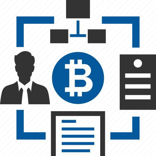 bitcoin, coin, cryptocurrency, elapsed, network, time icon