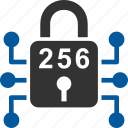 bitcoin, coin, cryptocurrency, encryption, security icon