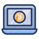 bitcoin account, bitcoin login, bitcoin website, electronic cash, online bitcoin, online cryptocurrency icon
