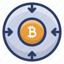 bitcoin, bitcoinchain, btc, cryptocurrency coin, digital currency icon