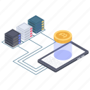 bitcoin network, bitcoin technology, blockchain network, btc, digital currency network icon