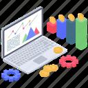 business management, business settings, business statistics, data analysis, data configuration, finance management icon