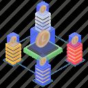 cryptocurrency, digital money, litecoin, litecoin network, litecoin technology icon