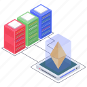 bitcoin distributed network, btc, cryptocurrency network, digital currency, ethereum network icon