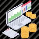 data analytics, data infographic, online analytics online statistics, online business graph icon