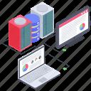 data infographic, online analytics, online business graph, web analytics, web statistics icon