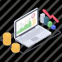 bitcoin analytics, bitcoin business, bitcoin increase rate, blockchain analytics, digital money icon
