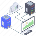bitcoin analytics, bitcoin business, bitcoin increase rate, blockchain analytics, cloud cryptocurrency chart icon