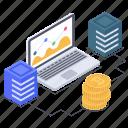 blockchain analytics, data analytics, data infographic, online business graph, online statistics icon