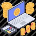 bitcoin calculation, bitcoin economy, bitcoin rate, crypto calculation, digital money, virtual money icon