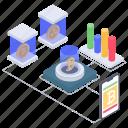 bitcoin statistics, data analytics, data infographic, online analytics, online business graph icon