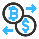 bitcoin, cryptocurrency, exchange, conversion, dollar