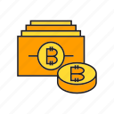 bank, bitcoin, blockchain, coin, cryptocurrency, digital currency, money icon