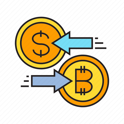 Barter, bitcoin, cryptocurrency, digital currency, exchange, money exchange, swap icon - Download on Iconfinder