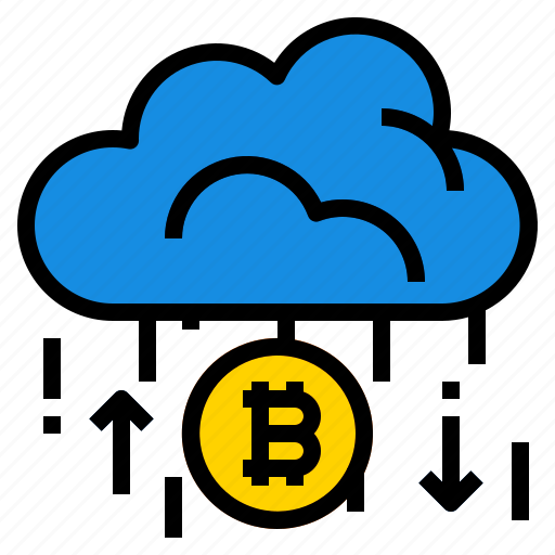 Bitcoin, cloud icon - Download on Iconfinder on Iconfinder