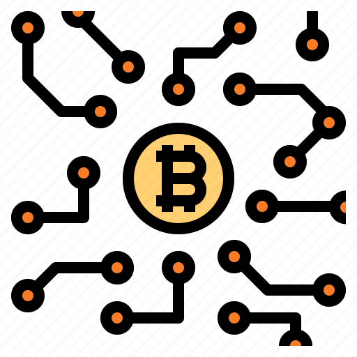 Bitcoin, blockchain, cryptocurrency icon - Download on Iconfinder
