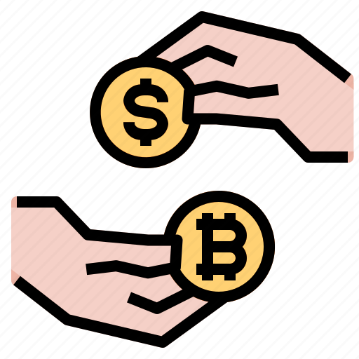 Bitcoin, cryptocurrency, exchange, transfer icon - Download on Iconfinder