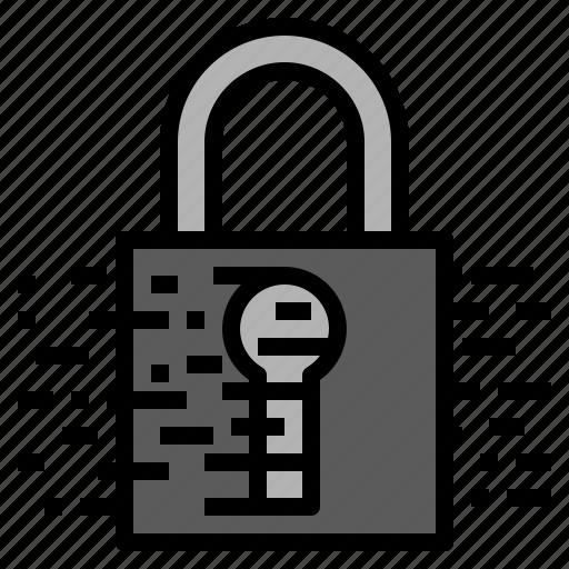 chip, data, encryption icon