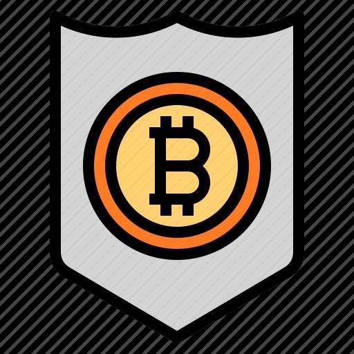 coin, security, shield icon