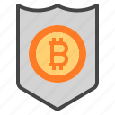 security, shield, bitcoin