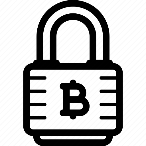 blockchain, cryptocurrency, lock, protection, safety icon