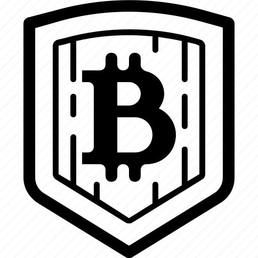 blockchain, cryptocurrency, protection, safety, security, shield icon