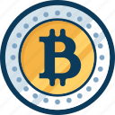 bitcoin, blockchain, coin, cryptocurrency, currency, digital, money icon