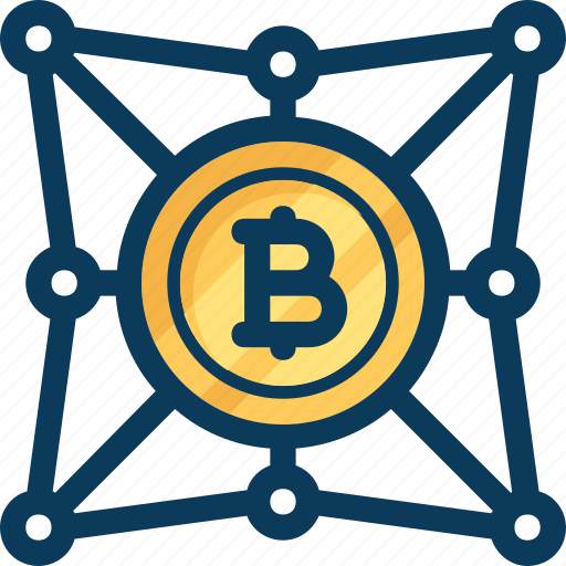 blockchain, coin, cryptocurrency, currency, network, transaction icon