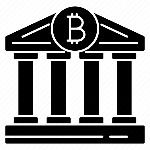 bank, building, finance, money, online icon