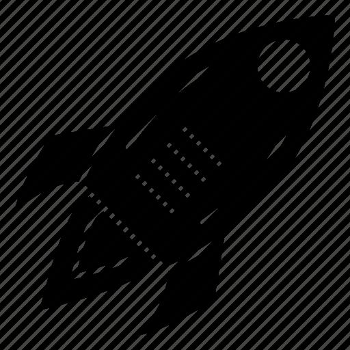 boost, rocket, spaceship, speedup, startup icon