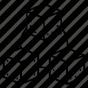 blocks, boarderd, circle, refresh, replace icon