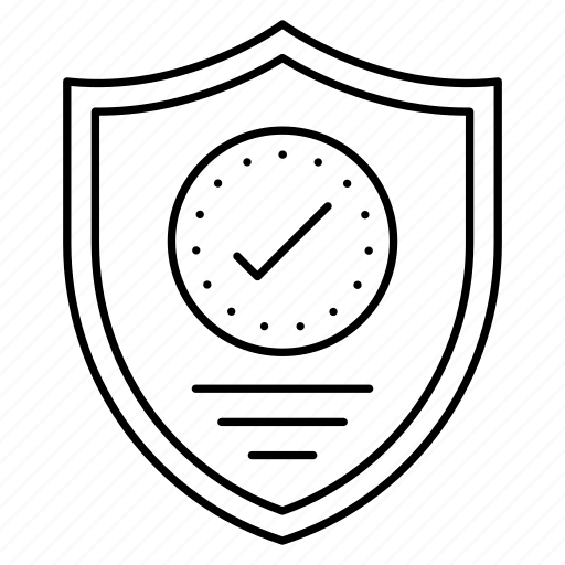 protection, security, sfety, shield, tick icon