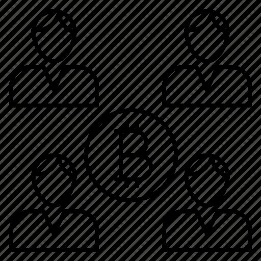 coin, organization, profile, team, user icon