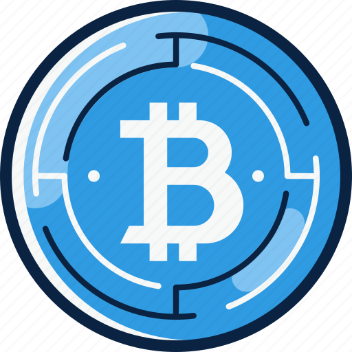 bitcoin, crypto, cryptocurrency, currency, cyber icon